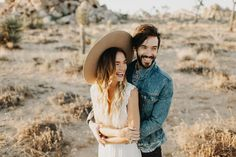 Joshua Tree Engagement Photos 6