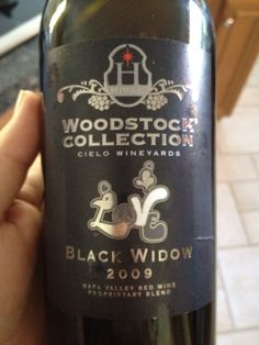 The 2009 Black Widow from Cielo (Sip) in Napa (tasting room in Malibu).  One of their better wines, but perhaps not worth the $75 price tag...