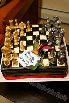 Chess cake-- so doing this for my grampys birthday!