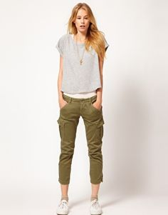 G-Star Slim Fit Chinos With Pocket Detail