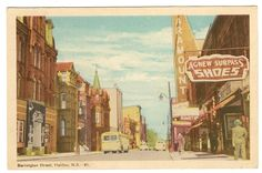 Barrington Street Halifax Nova Scotia Postcard | eBay