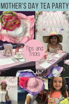 Hosting a Mother's Day Tea Party for my classroom is one of most meaningful events we have all year. Today I'm sharing my top tips for creating hats, making keepsake crafts, decorating unique invitations, party tips, and more! #mothersday #mothersdayteaparty #teaparty #preschool #kindergarten