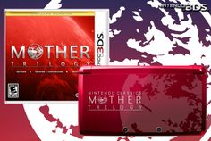 Mother/Earthbound custom limited edition 3DS by Mazza