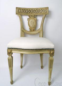 Monogram Chair from Tara Shaw