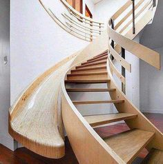 25 Brilliant Modern Staircase Design Ideas To Draw Inspiration From Contemporary Stairs, Modern Staircase, Staircase Design, Staircase Ideas, Stair Design, Wood Staircase, Railing Ideas, Loft Design, Stair Slide