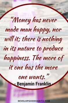"""a look at the career of benjamin franklin How to look like a million bucks for under $50  money & career,  i come to a determination accordingly"""" –benjamin franklin ."""