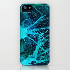 Lake Depths iPhone Phone Case for the  iPhone by HylaWaldronArtist