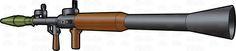 Rear Side View Image Of An RPG 7 Rocket Launcher #antitank #booster #breech #burns #equipment #explosive #fire #firearm #firing #grenade #grip #gun #gunpowderboostercharge #handheld #heatshield #highexplosive #iraq #launcher #metal #military #motor #propelled #rebel #rocket #rocketpropelledgrenade #rockets #RPG #RPG7 #shoulder #shoulderfired #sight #soviet #system #terrorists #trigger #USA #war #warheads #weapon #wood #vector #clipart #stock