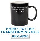 "Transforms between ""I solemnly swear I am up to no good"" and ""Mischief managed""."