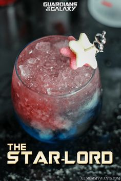 The Star-Lord Vodka-Based Cocktail (Inspired by Guardians of the Galaxy) #cocktail #GotGVol2 #GotgVol2Event via @mommywant