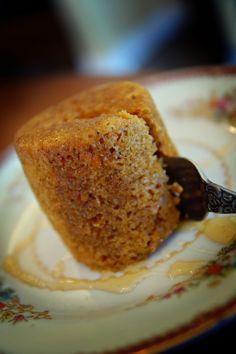 carrot cake in a mug!! Yum!