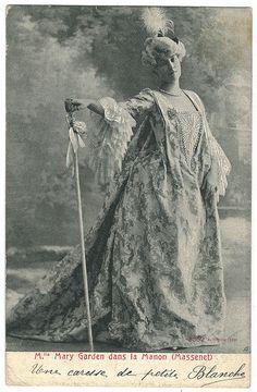GARDEN, Mary_Alterocca Terni. 3352. As Massenet in Manon