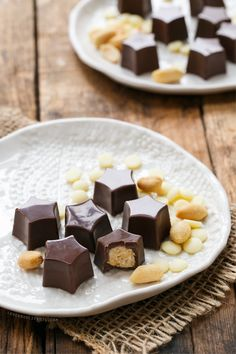 White Chocolate & Peanut Butter Avalanche Truffles