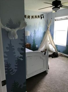 Baby Boy Nursery Room İdeas 748301294314555529 - Mountain mural big boy room Source by Baby Boy Room Decor, Baby Room Design, Baby Bedroom, Baby Boy Rooms, Nursery Room, Kids Bedroom, Bedroom Black, Baby Room Diy, Mountain Mural