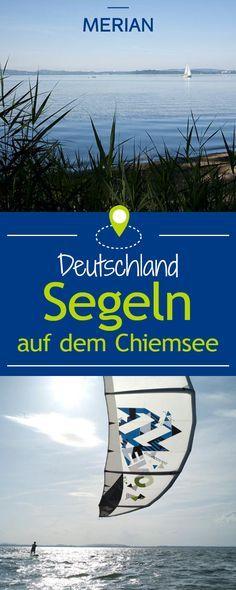 Ausfahrt in die Weiten des Chiemsees. Der Segeltörn auf dem Bayerischen Meer führt zu schönen Inseln und wilden Ufern. Zu Fischern, Adligen und an die Grenzen der