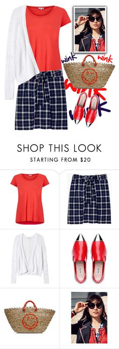 """""""Mood"""" by musicfriend1 ❤ liked on Polyvore featuring Splendid, Madewell, Rebecca Taylor and Anya Hindmarch"""