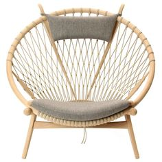 Trendy furniture - the Circle Chair by Hans J. Wegner | 1stdibs.com
