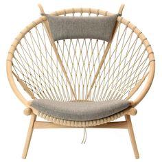 Trendy furniture - the Circle Chair by Hans J. Wegner | 1stdibs.com