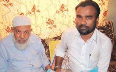 Syed Hussein with Human Rights activist Tajuddin Sharif