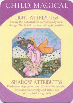 Caroline Myss - Archetype Card - Child:Magical