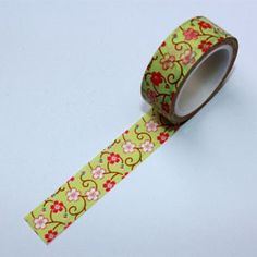 Washi Tape Sakura verde