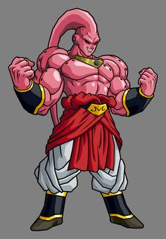 Super Buu - Broly Absorbed by hsvhrt on DeviantArt