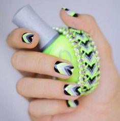 Nice Nail Design   See more nail designs at http://www.nailsss.com/nail-styles-2014/2/
