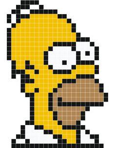 Pixel Art Homer