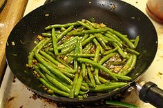 recipes for chinese food like at the buffet!!! ..btw i looooovve these green beans~