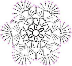 【編み図付き】お花のコースター : 「つくろう。」~工房あ~る製作日記~ Crochet Diagram, Crochet Chart, Crochet Motif, Crochet Doilies, Crochet Flowers, Crochet Stitches, Crochet Hooks, Knit Crochet, Crochet Patterns