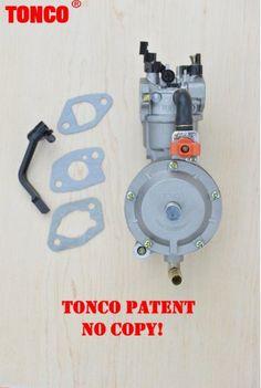 Карбюратор для генератора GX200 170F на два вида топлива бензин и газ