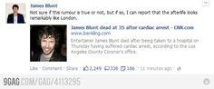 James Blunt is epic
