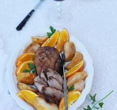 Pierś z kaczki w winie i pomarańczach Pot Roast, Beef, Ethnic Recipes, Food, Carne Asada, Meat, Roast Beef, Essen, Meals
