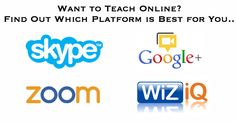 Want to Teach Online? Find Out Which Platform is Best for You..