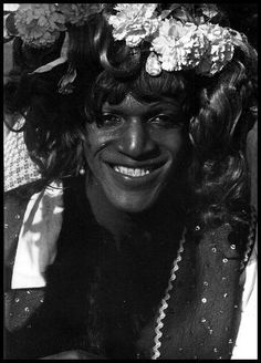 """Martha P Johnson, another drag queen and fellow """"instigator"""" of the Stonewall Riots."""