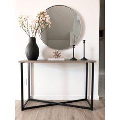 Round Mirror - Cheyenne - Nickel