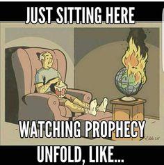 Mmmmhmmm... Jehovah's day on the horizon  JW.ORG