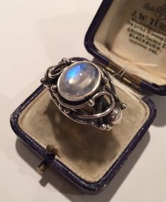 A personal favourite from my Etsy shop https://www.etsy.com/uk/listing/256440557/vintage-silver-moonstone-ringlovely