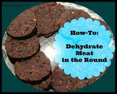 dehydrate meat recipe