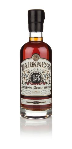 Darkness Whisky on Packaging of the World - Creative Package Design Gallery (Liquor Bottle Bourbon Whiskey) Tequila, Vodka, Cigars And Whiskey, Bourbon Whiskey, Whiskey Bottle, Bourbon Drinks, Irish Whiskey, Alcohol Bottles, Liquor Bottles