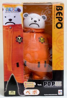 Megahouse One Piece P.O.P POP Stuffed Collection feat Bepo JAPAN ANIME JUMP