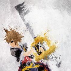 Kingdom Hearts - Sora by ~BOMBATTACK on deviantART