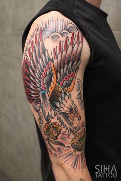 by Iñaki Beaskoa at Siha Tattoo
