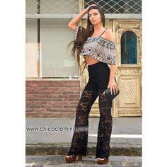 cb20e9238353 Παντελόνια Γυναικεία   Γυναικείες Παντελόνες - Chica Clothing
