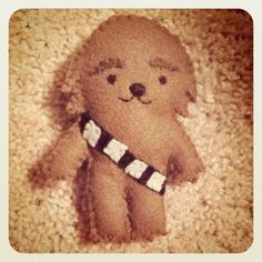 illustrations from beyond!: 215. (star wars felt dolls.)
