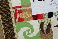 Fallin' in Love PDF pattern, Riley Blake fabric, Fall Table Runner or Wall Hanging, Mixi Heart Patterns, Mixi Heart, Mixi Heart PDF Patterns, www.MixiHeart.com