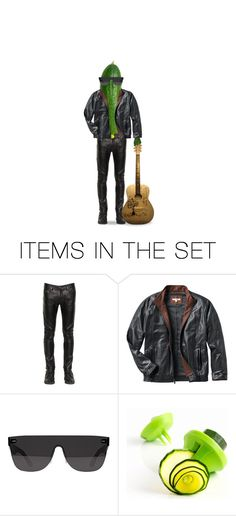 """""""Cool Cucumber"""" by beet-1 ❤ liked on Polyvore featuring art"""