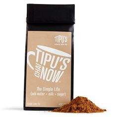 Tipus Chai Unsweetened Black Chai Tea (6x4oz)