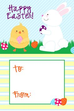 Free printable happy easter tags easter cupcakes toppers tags free printable happy easter tags easter cupcakes toppers tags wrappers pinterest happy easter free printable and easter negle Image collections