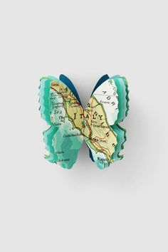 Tracey Bush's beautiful paper butterflies